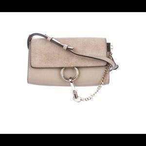 Chloe Faye wallet on strap